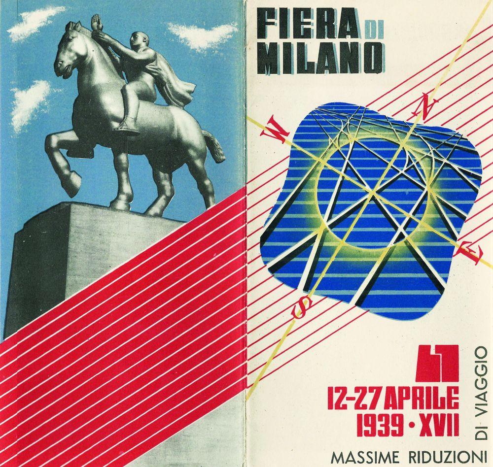 Fiera di milano 12 27 aprile 1939 l 39 arengario studio for Fiera milano aprile
