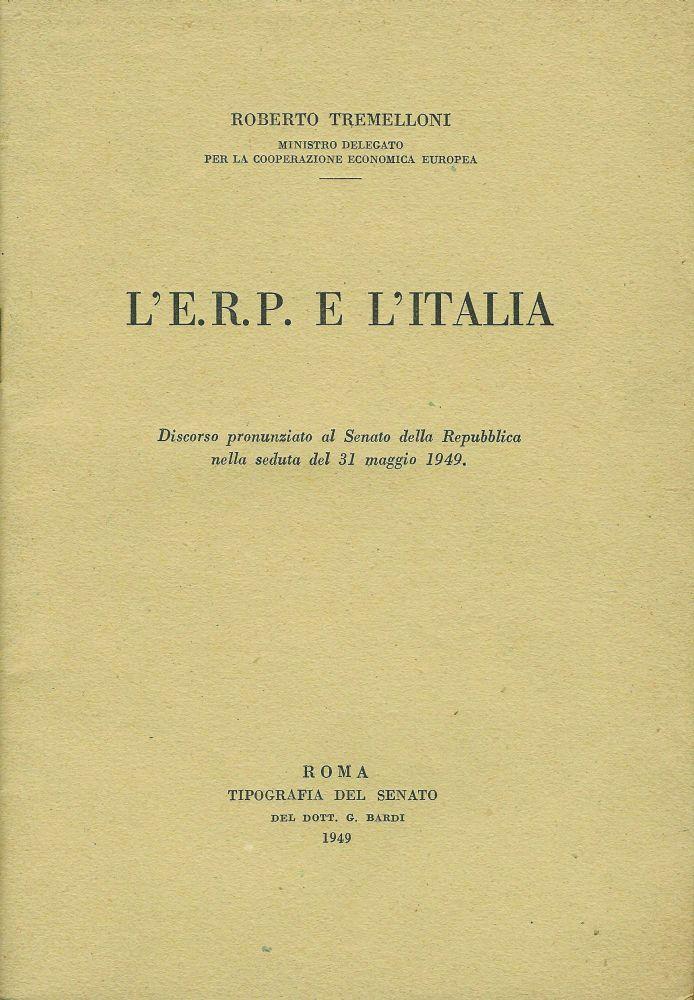 L e r p e l italia discorso pronunziato al senato della for Lavorare al senato della repubblica