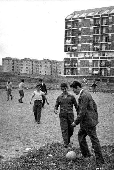 Pasolini e il calcio: una foto di Federico Garolla