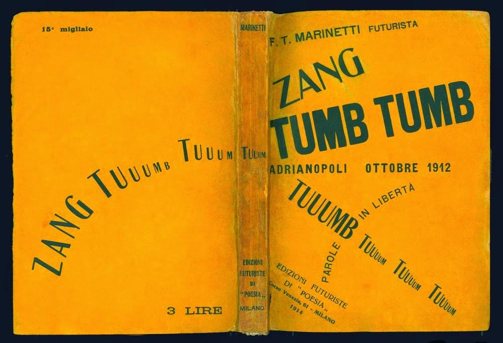 Il primo libro d'artista: ZANG TUMB TUUUM