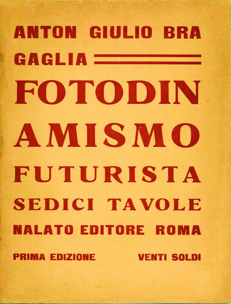Il Fotodinamismo di Bragaglia immaginario (1911) e reale (1913)