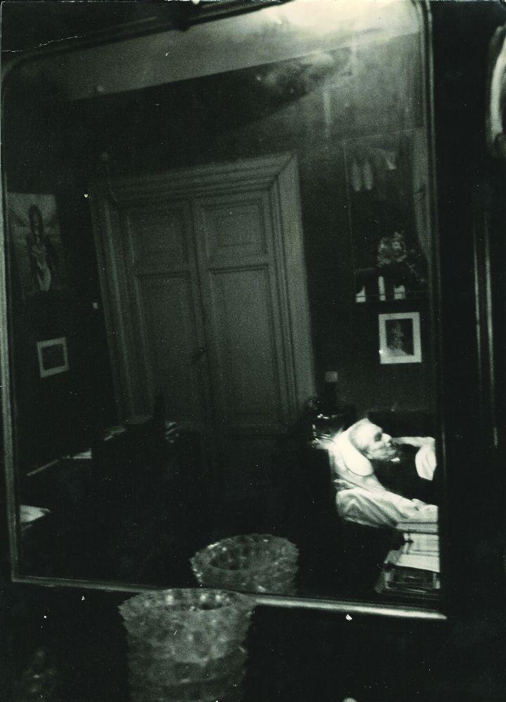 L'ultima fotografia  di Julius Evola – con una lettera di Gianfranco De Turris