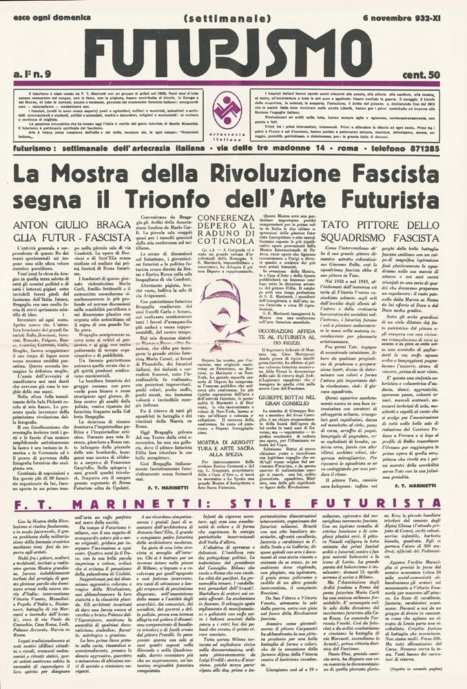 """Futurismo"" dərgisi"