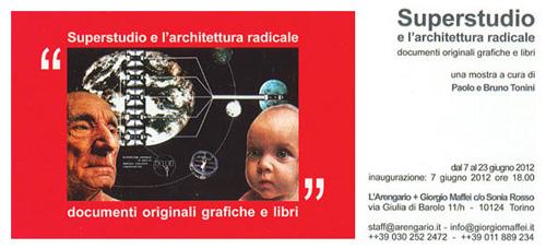 Superstudio e  l'architettura radicale