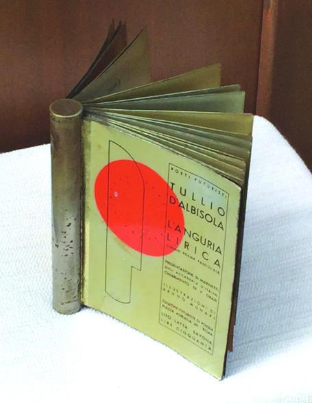 STORIA DEL FUTURISMO 1934: L'anguria lirica, libro cyborg d'artista